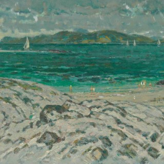 Yacht Race off Iona John Miller (1911-1975)