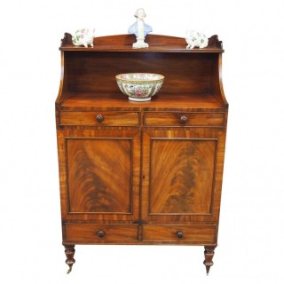 George IV Side Cabinet in Mahogany