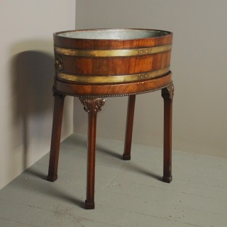 George III Open Wine Cooler