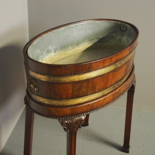 George III Open Wine Cooler