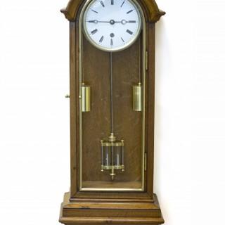 French Regulator Timepiece Wall Clock