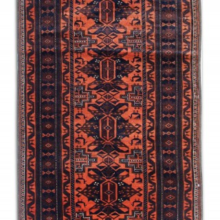 Antique Persian Runner Rug 97 x 250 cm