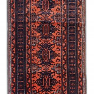 Antique Persian Runner Rug 97 x 250 cm