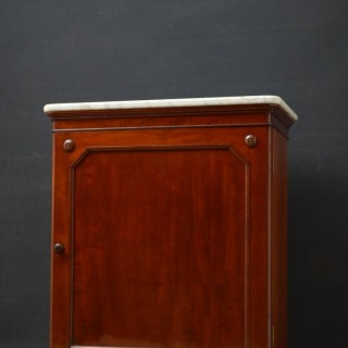 Victorian Mahogany Cabinet by Lamb of Manchester