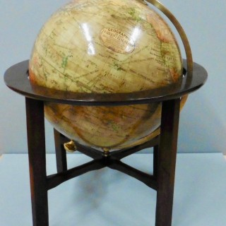 Edwardian Terrestrial Geographia 10 inch  Table Top Globe