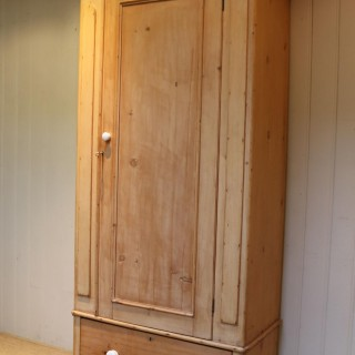 Victorian Single Pine Wardrobe