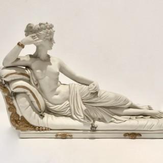 Parian figure of Venus