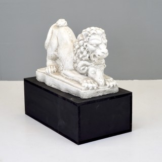 Painted Lion and Goat