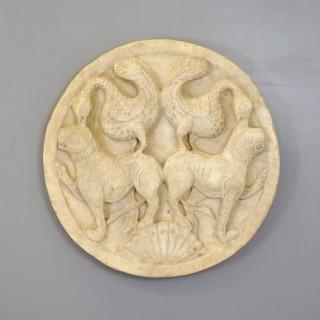 Circular Plaster Medallion