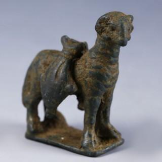 Roman Bronze Statuette of a Ram