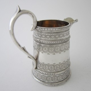 Antique Victorian Sterling Silver Tea & Coffee Set