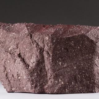 Two Large Antique Fragments of Imperial Porphyry