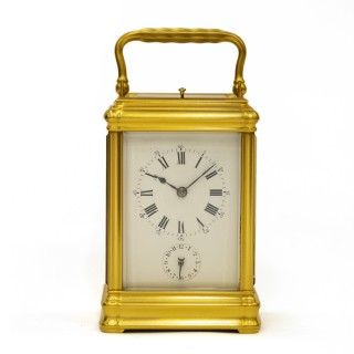 Grande Sonnerie Carriage Clock by Drocourt for Leroy