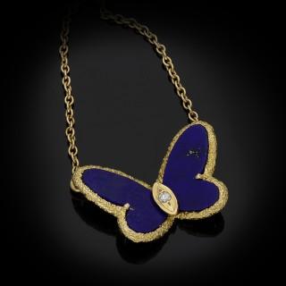 Van Cleef & Arpels butterfly pendant, circa 1970.
