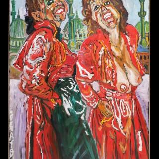 Oil on Canvas by John Bratby R.A. (1928 - 1992)