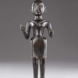 Indian Eastern Bengal Cast Bronze of the Hindu Goddess Radha