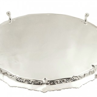 Antique Victorian Silver Plated 12