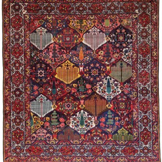 Antique Baktiari carpet