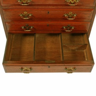 Small Victorian Seven Drawer Chest