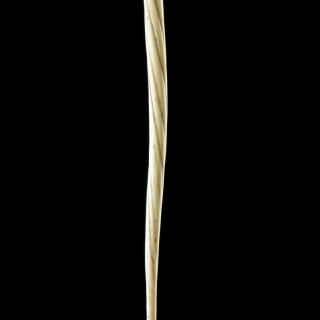 Bering Sea Eskimo Inuit Harpoon Fore-shaft Made From the Upper End and Tip of a Narwhal Tusk 'Monodon Monoceros'