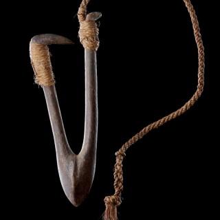 Polynesian Tuvalu Ellice Islands Fish Hook 'Kou Boru'