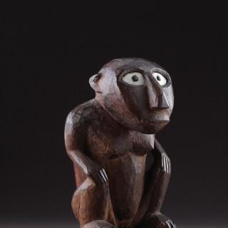 Rare Pair of Micronesian Caroline Islands Mortlock Islands Idols