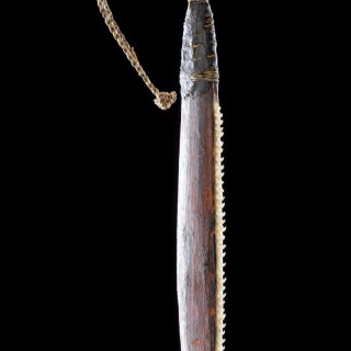 Unusual Western Australian Aboriginal Minang Peoples Saw Knife 'Taap'