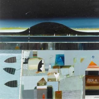 'Magic Harbour' by Scottish conemporary artist Archibald Dunbar Mcintosh
