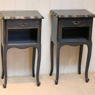 Pair Of Painted Bedside Cabinets