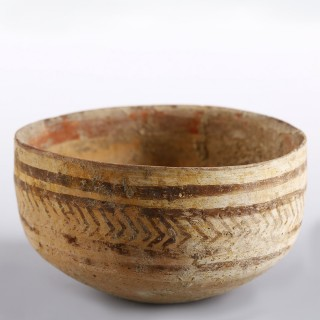 Indus Valley Decorated Bowl