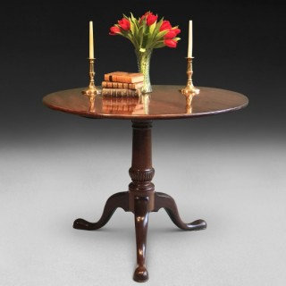 Mid 18th Century Mahogany Tripod Centre Table