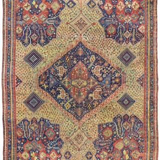Rare Early Ushak carpet