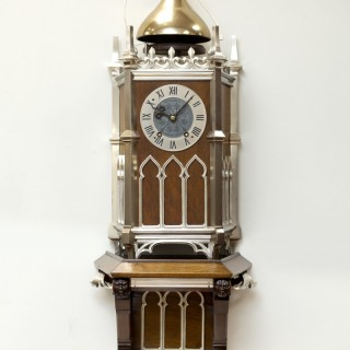 Bell-striking Neogothic Bracket Clock