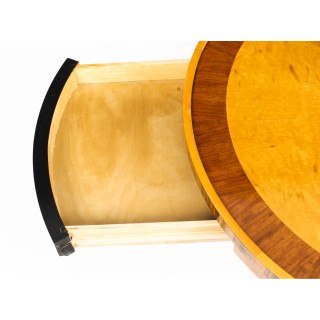 Antique Swedish Biedermeier Birch Occasional / Coffee Table Circa 1930 20th C