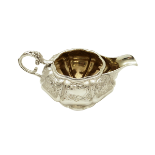 Antique Georgian Sterling Silver Jug 1827