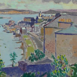 'Gourock' original oil painting by Scottish artist Alexander Galt (1913-2000)
