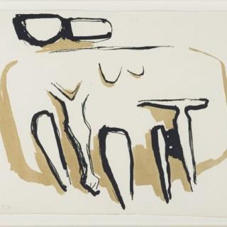 SEATED GROUP - Kenneth Armitage CBE 1916-2002