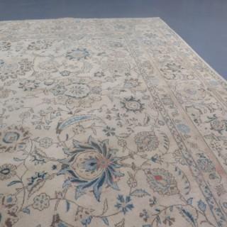 Elegant Kashan carpet