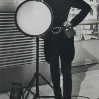 Original photograph of Eric Wright by Karl Lagerfeld