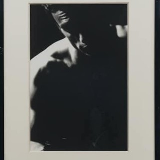 Original photograph of unidentified male by Karl Lagerfeld