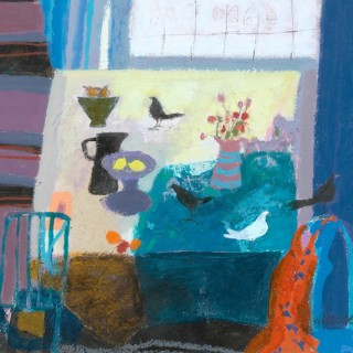 'Spring Table' by Scottish artist Christine Woodside