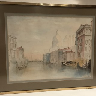 Nineteenth Century Watercolour of Venice