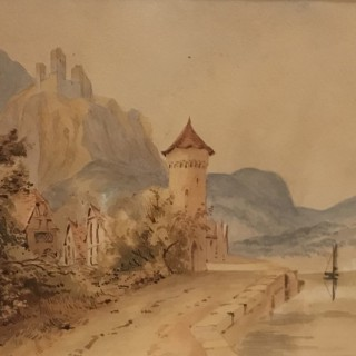 Nineteenth Century Continental Watercolour