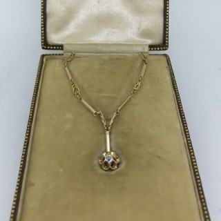 Belle Epoque Period Diamond Necklace