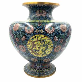 Antique 19th Century Cloisonné Chinese vase