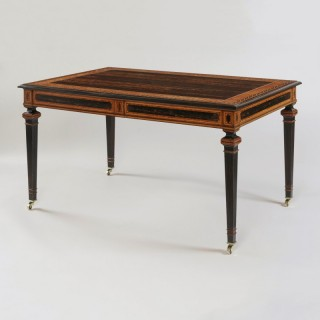 A Magnificent Library Table Attributed to Jackson & Graham