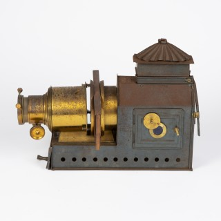 Magic lantern slide projector by Riley Brothers of Bradford