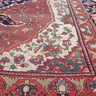 Fine antique Sarouk-Feraghan carpet
