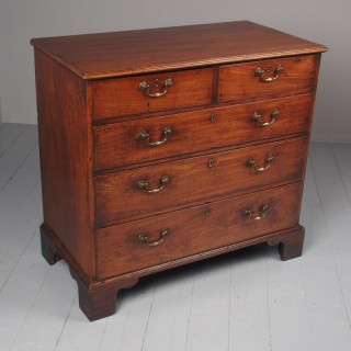 George III Mahogany Dumfries House Style Chest of Drawers