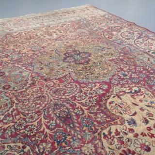 Exceptional Laver Kirman carpet